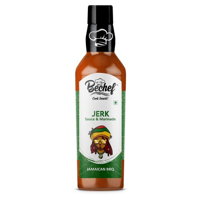 Bechef Jerk Jamican Hot Barbeque Sauces 250 g