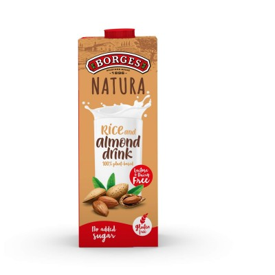 Borges Natura Rice and Almond Drink 1L