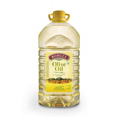 Borges Olive Oil Extra Light Flavour, 5 Litres