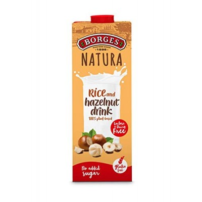 Borges Natura Rice and Hazelnut Drink 1 Litre