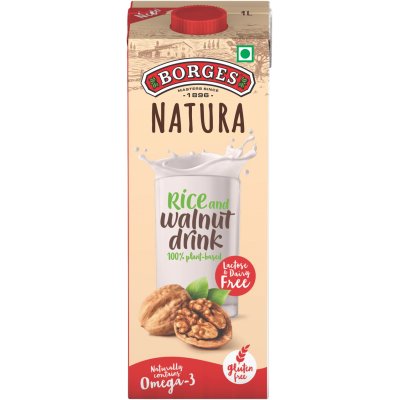 Borges Natura Rice and Walnut Drink 1L