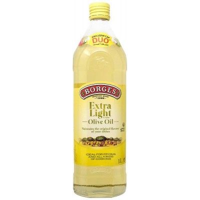 Borges Olive Oil-Extra Light in Taste, 1L