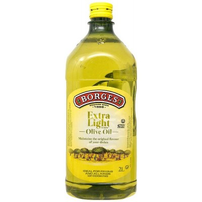 Borges Olive Oil Extra Light Flavour, 2 Litres