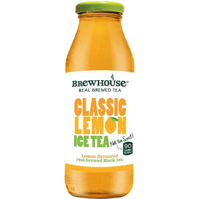 Brewhouse Classic Lemon Ice Tea 350 ML Glass Bottle