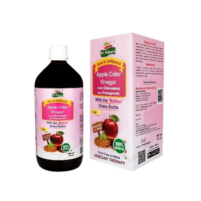 Dr. Patkar's Apple Cider Vinegar with Cinnamon and Fenugreek 500 ml
