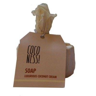 Coconess Coconut Cream Soap, Natural & Handmade, 125 g