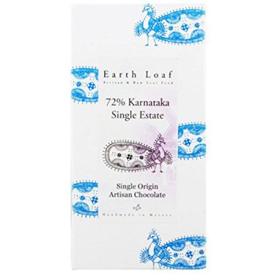 Earth Loaf 72% Karnatakan Single Estate Chocolate Bar (Pack of 2)