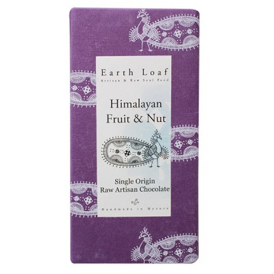 Earth Loaf Himalayan Fruit & Nut Chocolate Bar (Pack of 2)