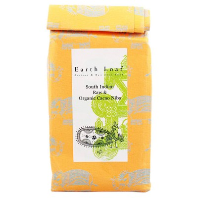 Earth Loaf Raw Cacao Nibs 100g (Pack of 2)