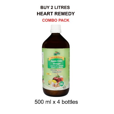 Heart Remedy Combo 2 Litres (500ML X 4)