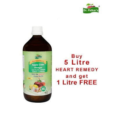Dr. Patkar's Heart Remedy 5 +1 offer (6Liters Pack)