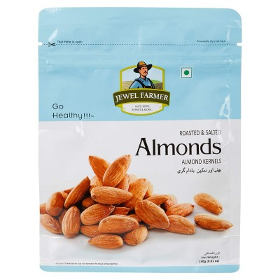 Jewel Farmer Roasted Almonds (250 g)