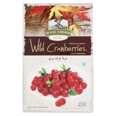 Jewel Farmer Wild Cranberries 200 Gram