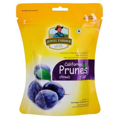 Jewel Farmer California Prunes Dry (227 Gram)