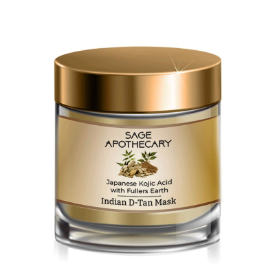 SAGE APOTHECARY INDIAN D-TAN MASK FROM LUJOBOX BY SEER SECRETS