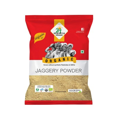 24 Mantra Organic Products Jaggery Powder (Pack of 2)