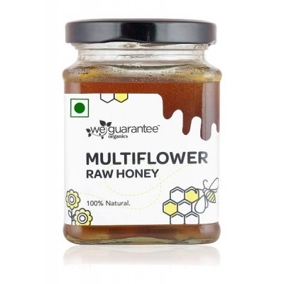 Weguarantee Organics   - Multiflower Raw Honey (300 gm)