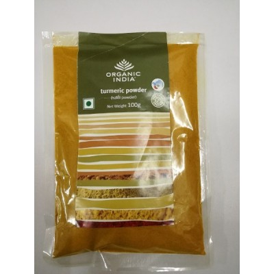 Organic India Turmeric Powder 100 Gram