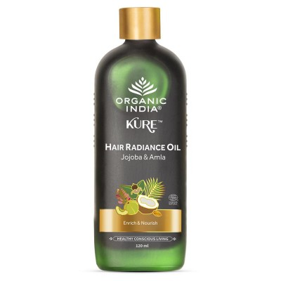 Organic India Hair Radiance Oil Jojoba and Amla 120ml