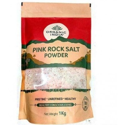 Organic India Pink Rock Salt Powder 1Kg