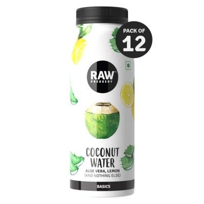 Raw Pressery Coconut Water with Aloe Vera, Lemon - 12 x 200ML