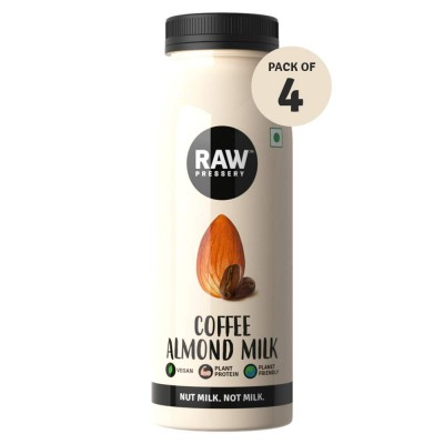 Raw Pressery Almond Milk Coffee - 4 x 200ml