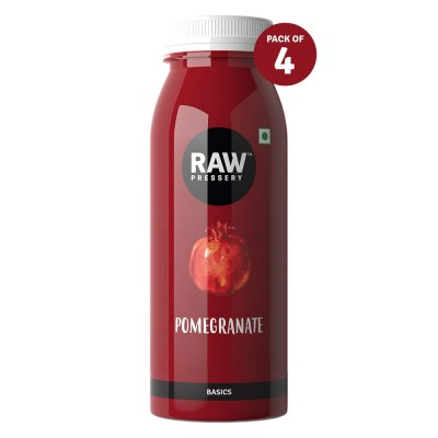 Raw Pressery Pomegranate Juice (2 X 1000ML)- Rich in Anti-oxidants, Improves Heart Health, No Added Sugar