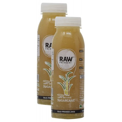 Raw Pressery Cold Pressed Juice - Sugarcane, 250ml (Pack of 10)