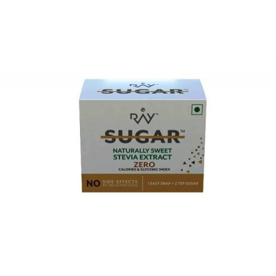 Ray Stevia Sugar Substitute Powder 20 gm (20 sachets) – Zero Calories & Glycemic Index