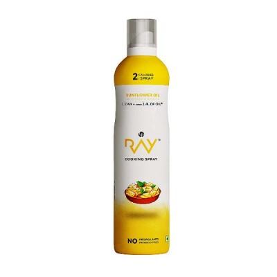 Ray Cooking Spray Oil Sunflower - 200 ml (Also Combo Packs Available)