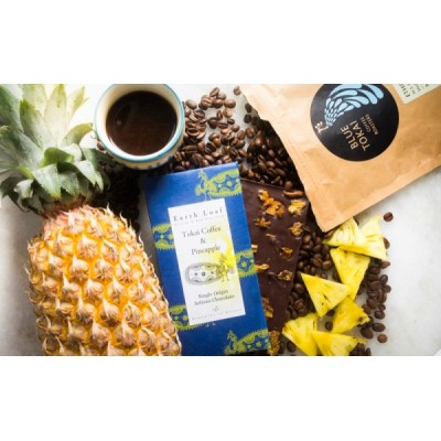 Earth loaf Tokai Coffee & Pineapple Chocolate Bar  (Pack of 2)