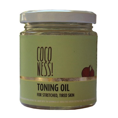 Coconess Toning Oil for stretch marks, 100% natural 200 ML