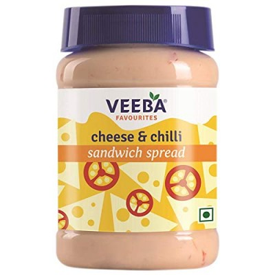 Veeba Cheese and Chilli Sandwich Spread 275g