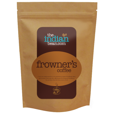 The Indian Bean - Bullet Frowner's Coffee, 250g